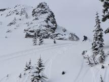 Hilda Hut ski line