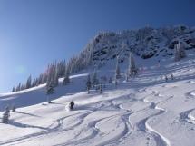 Lequereux ski touring zone