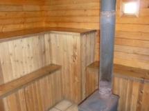 Valkyr Lodge sauna