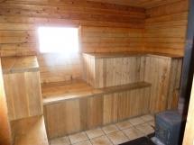 sauna hut at Naumulten Mountain