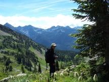 alpine hiking