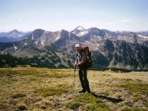 Alpine hiking Valkyrs