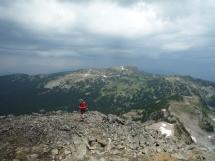 on Mt Rollins