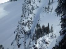 Valkyr Lodge ski terrain