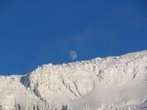 moonrise over Naumulten Mt.