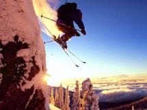 Chad Sayers ski jump