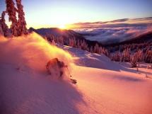 Valkyr Lodge - Alpen glow