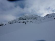 Top of the ski run