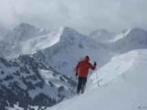 Valkyr ski terrain