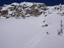 Fun skiing at Valkyr Lodge
