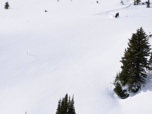 Ski touring in the Valkyrs